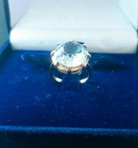 Перстень с Аквамарином!👑