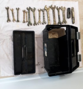 Набор обмедненных инструментов + медная кувалда