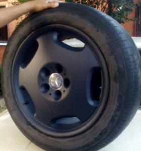 Комплект колес на Mercedes-Benz r18