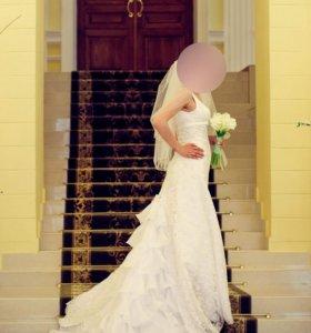 Самое нежное и счастливое свадебное платье Италия
