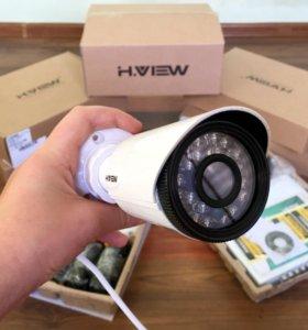 Лучший набор камер наружнего наблюдения