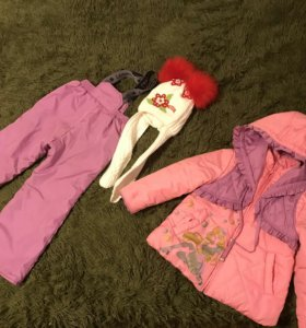детский костюм на девочку на 4 года рост 110
