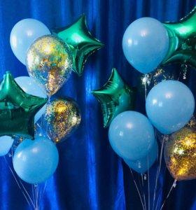 Гелиевые шары , оформление праздников