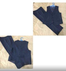 Школьные брюки и жилет