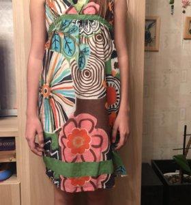 Летнее платье сарафан Promod
