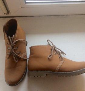 Женские ботиночки весна-осень