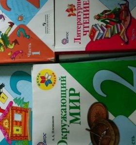 Продам учебники для 2 класса программа Школа Росси