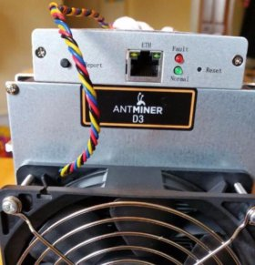 Antminer D3 19.3Gh/s