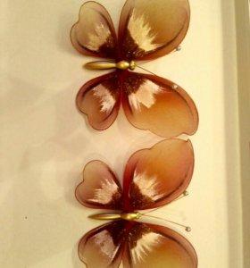 Бабочки для украшения тюля
