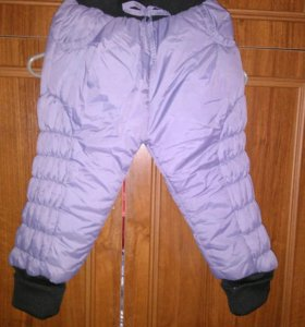 Серые штаны утепленные