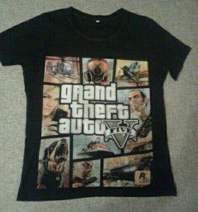 GTA/Grand Theft Auto/мужская футболка 42-44