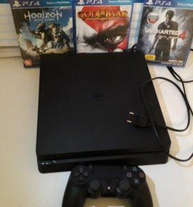 Playstation4 slim ~ 5 игр