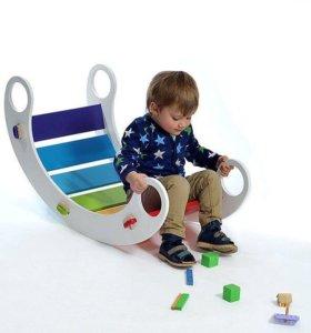 Радужная качалка - любимая игружки детей!