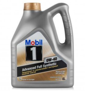 Mobil 1 0w40 full synthetic