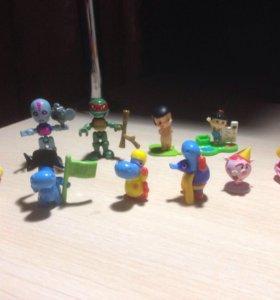 Игрушки из Киндера Сюрприза