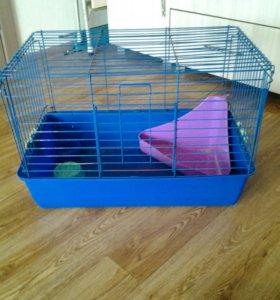 Клетка для кролика и других мелких животных.