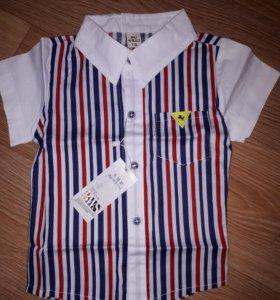 Рубашка 110рост 2-3года примерно