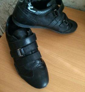 Ботинки легкие натуральная кожа