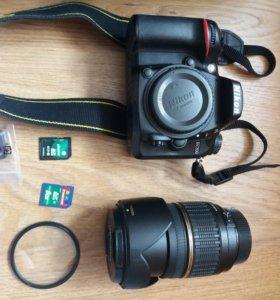 Nikon D7200 + объектив  Tamron af 17 - 50mm f 2.8