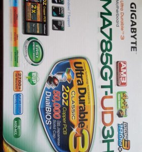 Материнская плата Gigabyte GA-MA785GT-UD3H