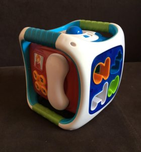 Развивающий куб-сортер от imaginarium