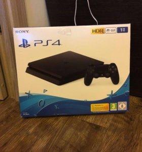 PlayStation 4 1TB +Fifa18+ Battlefield 1