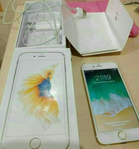 iPhone 6s 16gb gold торг!