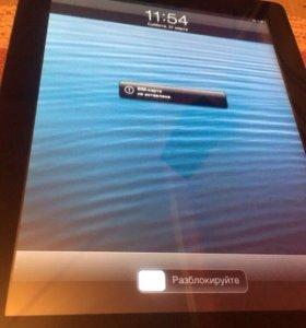iPad 2 32Gb wi-fi+3G черный с сим-картой