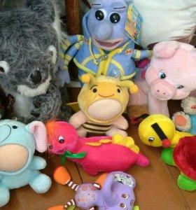 Мягкие игрушки за все цена