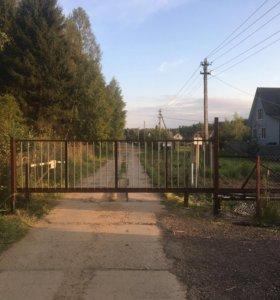 Откатные ворота( каркас, фурнитура)