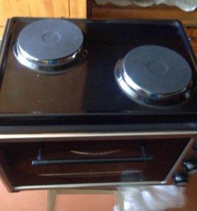 Мини печь + гриль+ 2 конфорки