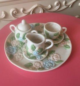 Детская эксклюзивная керамическая посуда