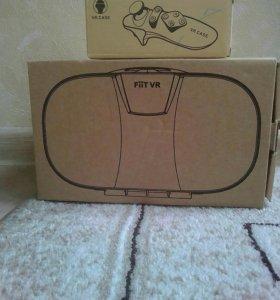 В комплекте: VR очки+джойстик