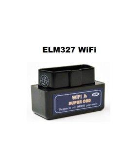 Диагностический сканер ELM 327 WiFi для iPhone