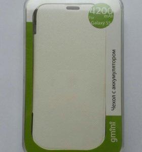 Чехол аккумулятор для Samsung Galaxy s5