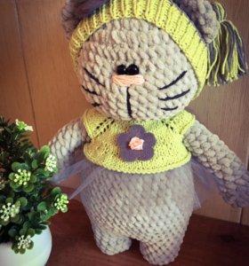 Плюшка Кошечка handmade