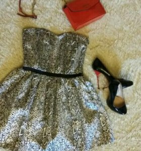 Платье для куколки 42р