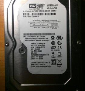 Продам жесткий диск на 320gb