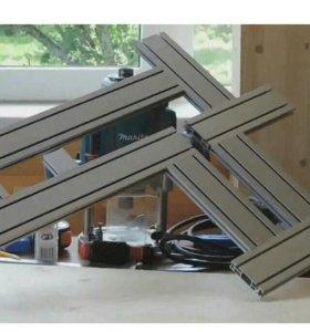 Шаблон для фрезерования тетивы лестниц.