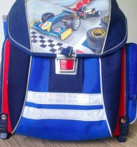 Портфель рюкзак школьный erich krause