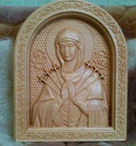 Икона Пресвятой Богородицы - Семистрельная