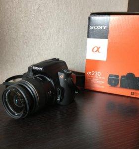Фотоаппарат Sony Alpha dslr-A230