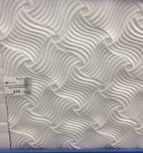 Плитка потолочная, формат 3D, бесшовная. 15 кв.м