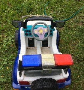 Автомобиль на аккумуляторе
