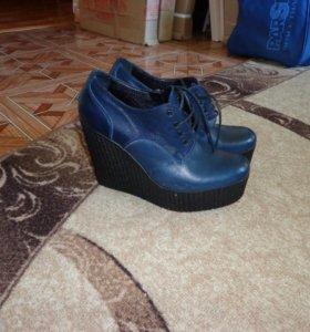 Продам новые, кожаные туфли