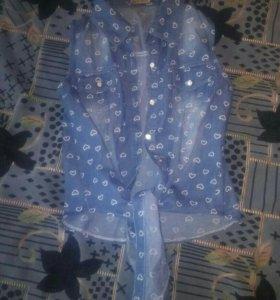 Новая блузка-топ!!!