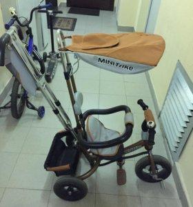 Детский трехколёсный велосипед.Торг !