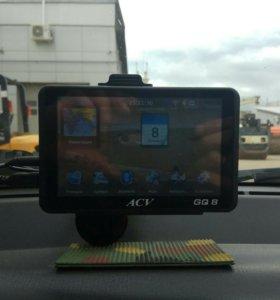 Автомобильный навигатор + регистратор