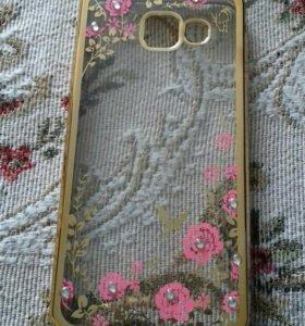 Чехол новый для телефона Samsung Galaxy A 3 ( 2016
