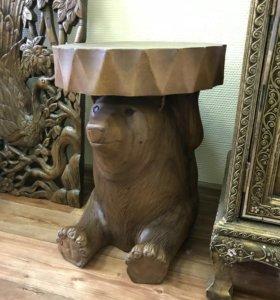 Табурет Медведь